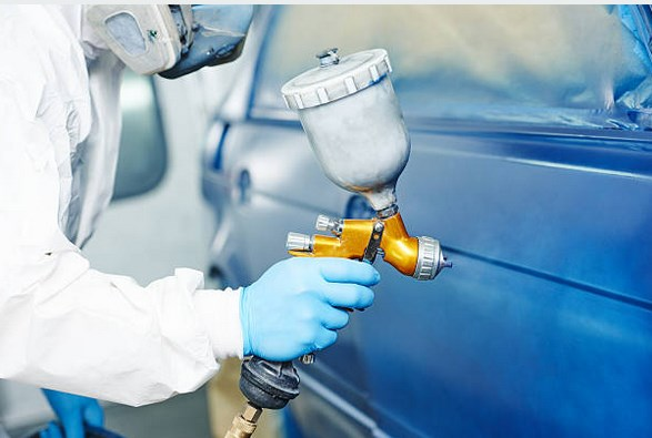 do it yourself car spray painting course