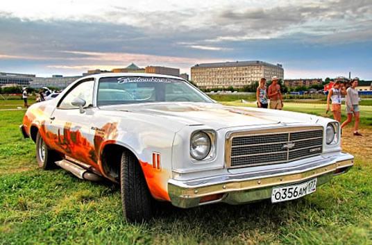 vintage car paint auto