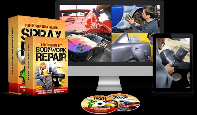 automotive spray paint repair
